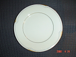 Click here to enlarge image and see more about item 8001: Noritake Fine China Golden Cove Bread and Butter Plates