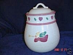 Treasure Craft Noel Cookie Jar