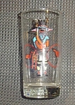 Click here to enlarge image and see more about item 8976: Libbey Glass Kachina Hi Ball Glasses
