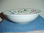 Click here to enlarge image and see more about item 1168: Farberware English Garden 225 Serving Bowl