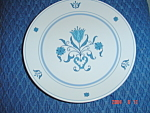 Click here to enlarge image and see more about item 8097: Noritake Progression Blue Haven Bread and Butter Plates