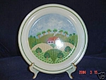 Click here to enlarge image and see more about item 1318: Sango Country Cottage Dinner Platter