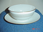 Noritake Samara Gravy Boat w/Attached Tray