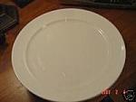 Villeroy & Boch White Rimmed Dinner Plates - Luxembourg