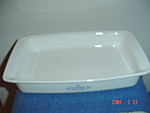 Click here to enlarge image and see more about item 1438: Corning Ware Cornflower Blue Lasagna Pan