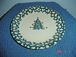 Click here to enlarge image and see more about item 1483: Tienshan Folk Winter Wonderland Dinner Plates