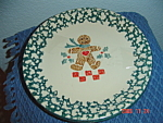Tienshan Folk Craft Gingerbread Salad Plates
