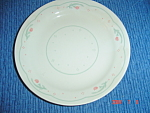 Click here to enlarge image and see more about item 1508: Corelle Calico Rose LUNCH Plates