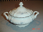 Johann Haviland Blue Garland Footed Covered Casserole