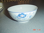 Click here to enlarge image and see more about item 1676: Blue Peony Rice Bowls
