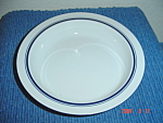 Dansk Christianshavn Blue Salad Plates - Japan