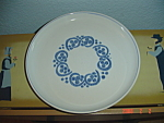 Denby Rams Head English Blue Dinner Plates