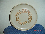 Denby Rams Head English Brown Bread Plates