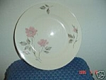 Click here to enlarge image and see more about item 1822: Knowles Dawn Rose Dinner Plates