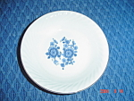Click here to enlarge image and see more about item 1828: Wedgwood Royal Blue Dessert Bowls