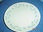 Click here to enlarge image and see more about item 1846: Royal Doulton April Showers Salad Plates