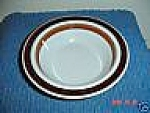 Click here to enlarge image and see more about item 2000: Arabia Rosemarin Cereal/Soup/Dessert Bowls