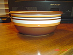 Dansk Stacking Stripe Cereal Bowls