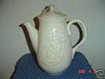 Click here to enlarge image and see more about item 8799: Metlox Antique Grape Coffee Pot