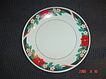 Click here to enlarge image and see more about item 2176: Tienshan Deck the Halls Dinner Plates