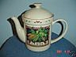 Click here to enlarge image and see more about item 8801: Susan Winget Corn Covered Tea Pot