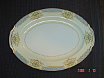 Click here to enlarge image and see more about item 227: Noritake Occupied Japan Chevonia  Platter
