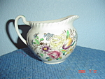 Click here to enlarge image and see more about item 2326: Johnson Bros. Garden Bouquet Creamer
