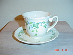 Click here to enlarge image and see more about item 2331: Johnson Bros Vintage Modern Cups and Saucers