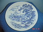 Click here to enlarge image and see more about item 10958: Enoch Wedgwood Countryside Dinner Plates Vintage
