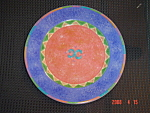 Click here to enlarge image and see more about item 2409: Sango Potpourri May Night Salad Plates