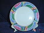 Click here to enlarge image and see more about item 2413: Sango Flair Salad Plates