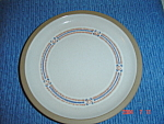 Click here to enlarge image and see more about item 258: Wedgwood Midwinter Marin Dinner Plates