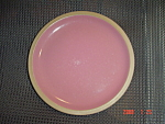 Click here to enlarge image and see more about item 267: Midwinter Wedgwood Rose Quartz Dinner Plate