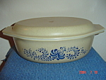 Pyrex Homestead 1.5 Quart Oval Covered Casserole
