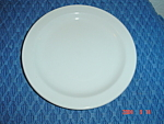 Midwinter Wedgwood Stonehenge White LUNCH plate