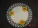 Click here to enlarge image and see more about item 2752: Tabletops Sunny Salad Plates
