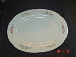 Click here to enlarge image and see more about item 2807: Pfaltzgraff Meadow Lane Meadowlane Oval Platters