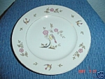 Click here to enlarge image and see more about item 2888: Sone China Bird on a Branch Dinner Plates