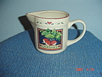 Click here to enlarge image and see more about item 2911: Susan Winget Radishes Creamer