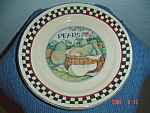 Click here to enlarge image and see more about item 9030: Susan Winget Pears Dinner Plate