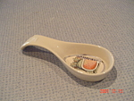 Click here to enlarge image and see more about item 2914: Susan Winget Watermelon Spoon Rest