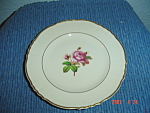 Click here to enlarge image and see more about item 2920: Syracuse China Rosalie Lunch Plates