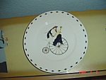 Click here to enlarge image and see more about item 8163: Oneida Kitchen Chefs to Go #4 Salad Plate