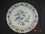 Click here to enlarge image and see more about item 2976: Nikko Double Phoenix Dinner Plate
