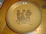 Click here to enlarge image and see more about item 3015: Rossler Swiss Made Salad Plates - REALLY NEAT