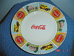 Click here to enlarge image and see more about item 3020: Gibson BRAND NEW Coca Cola Dinner Plates