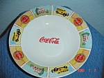 Click here to enlarge image and see more about item 3021: Gibson BRAND NEW Coca Cola Soup Bowls