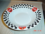 Click here to enlarge image and see more about item 3028: Gibson Coca Cola Soup Bowls