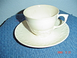 Click here to enlarge image and see more about item 3100: Crooksville Love (Two) Birds Cups/Saucers