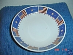Click here to enlarge image and see more about item 3109: Sakura Majestic Flag Soup Bowls